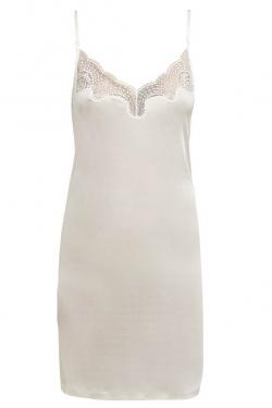 Silk Jersey Lace Slip