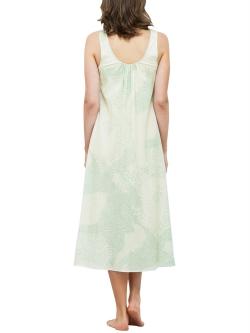 Soft Silk Print Nightdress
