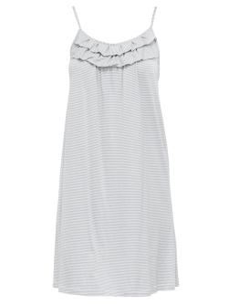 Stripe Ruffle Nightdress