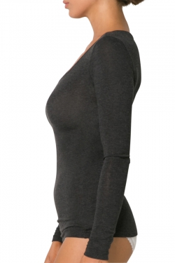 Warm Modal Long Sleeve Top