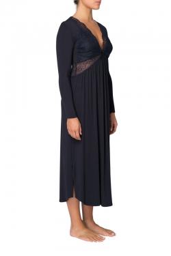 Butterfly Modal Long Sleeve Nightdress