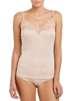 Silk Jersey Lace Camisole
