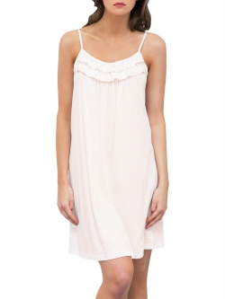 Stripe Ruffle Nightdress