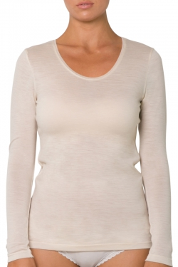 Wool Cashmere Long Sleeve