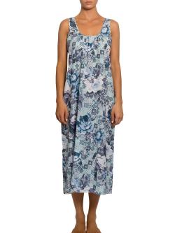 Light Cotton Silk Long Nightdress
