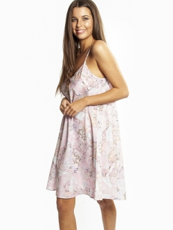 Pure Cotton Voile A-Line Nightie