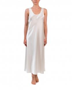 Mono Silk Long Nightdress