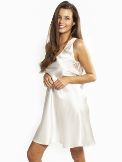 Mono Silk Short Nightdress