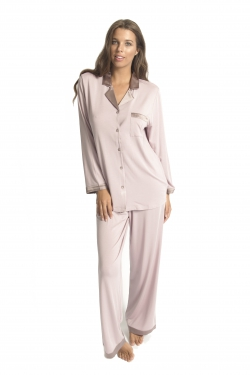 Silk Trim Premium Modal PJ Set