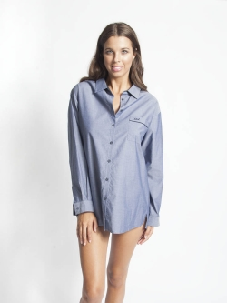 London Long Sleeve PJ Top