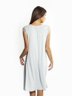 La Femme Modal Sleeveless Nightie