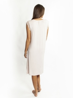 La Femme Modal Sleeveless Nightie