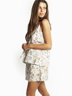 Liberty Linen Cotton Cami