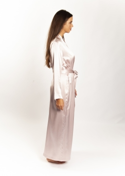 Silk Robe Long