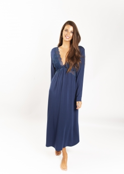 Butterfly Modal Long Sleeve Nightdress