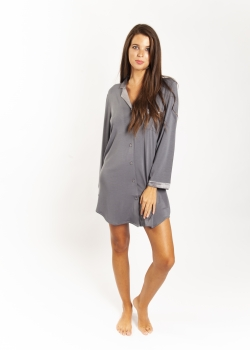 Silk Trim Premium Modal Nightie