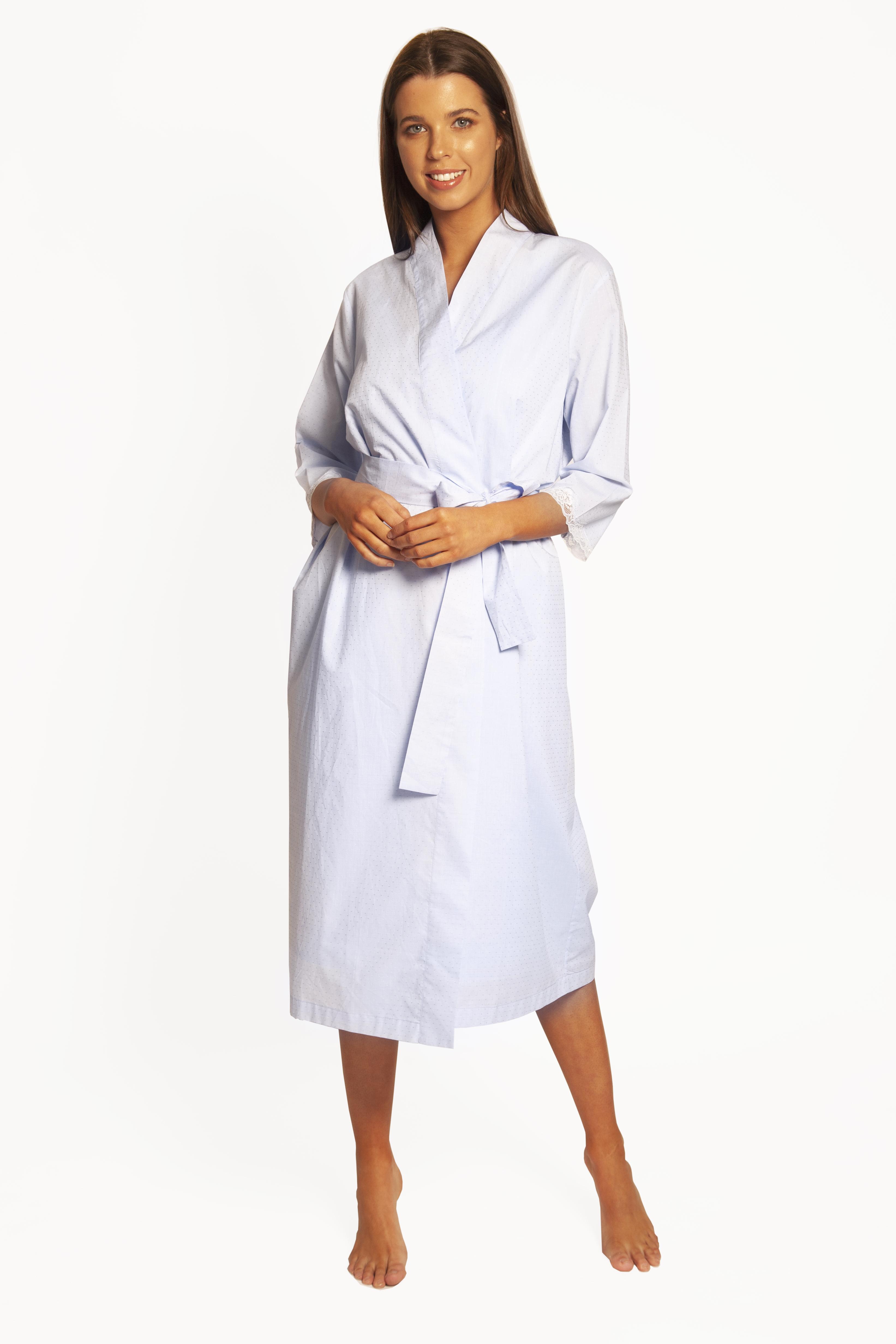 Cotton Spot Robe