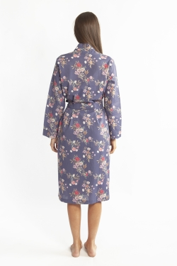 Cotton Voile Robe