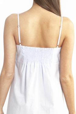 Cotton Spot Strappy Nightdress LL862