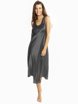 Mono Silk Long Nightdress